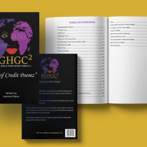 Black Girlz Have Good Credit Too - Book of Credit Poemz