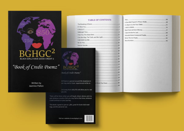 Black Girlz Have Good Credit Too - Book of Credit Poemz